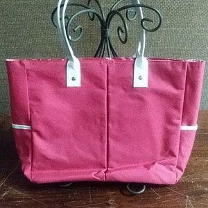 Lancome Pink tote bag